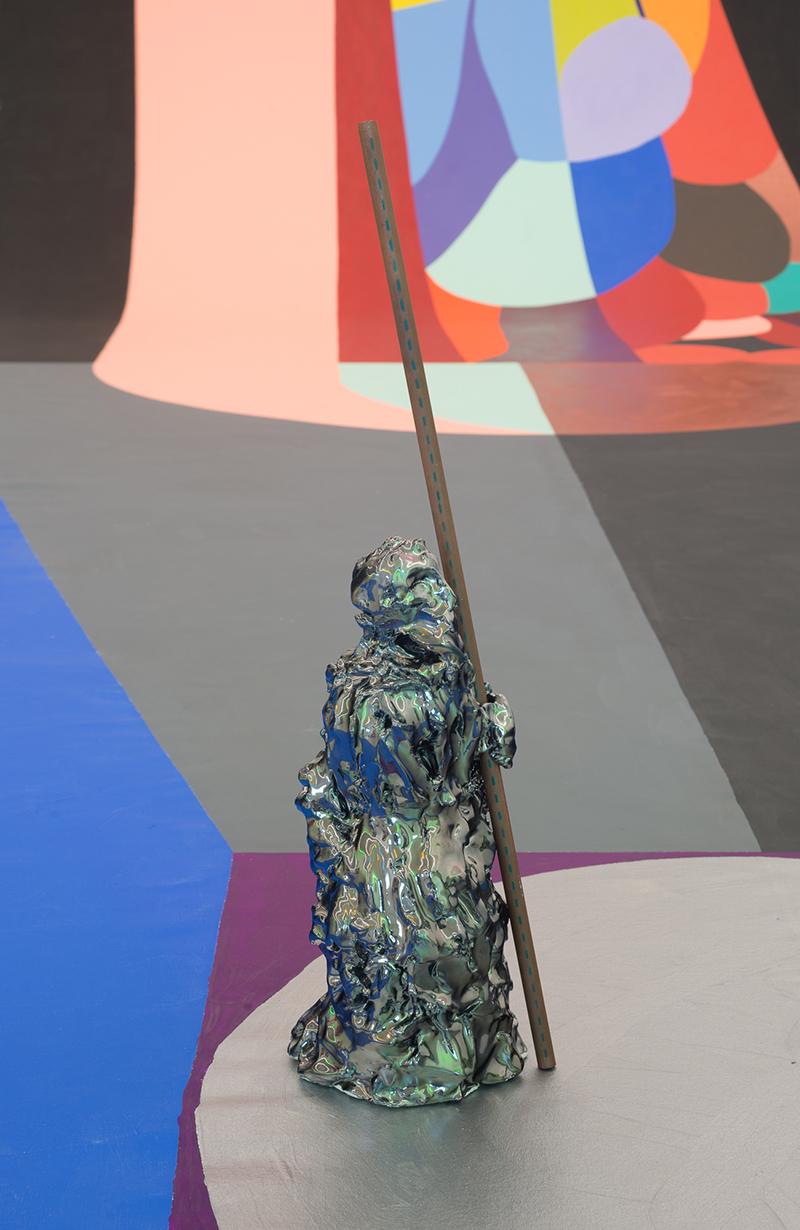 Mikala Dwyer, Backdrop for Saint Jude, 2016 (detail)