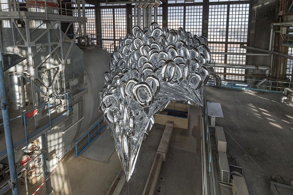 Mikala Dwyer, The Silvering, 2017 | Triple Point of Matter, Foundation Fiminco, Paris (photo: Charles Duprat)