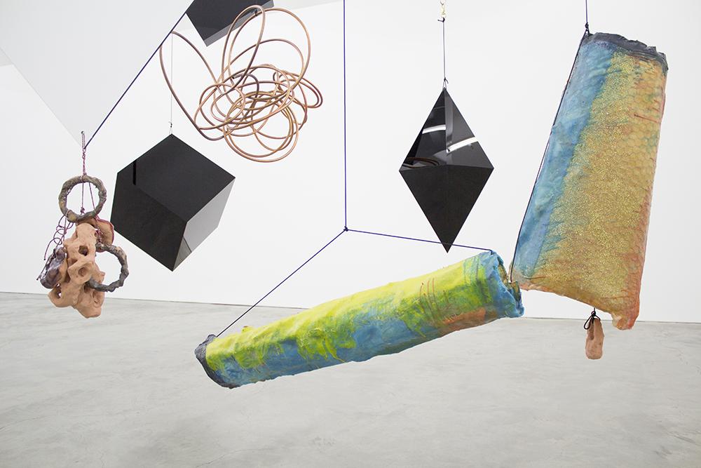 Mikala Dwyer, The weight of shape, 2014 | Hollowwork, 2014, Anna Schwartz Gallery, Melbourne