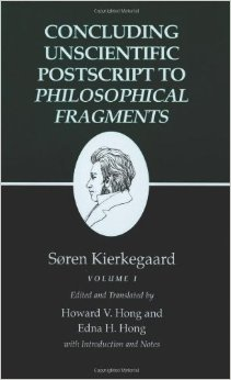 The Concluding Unscientific Postscript by Soren Kierkegaard