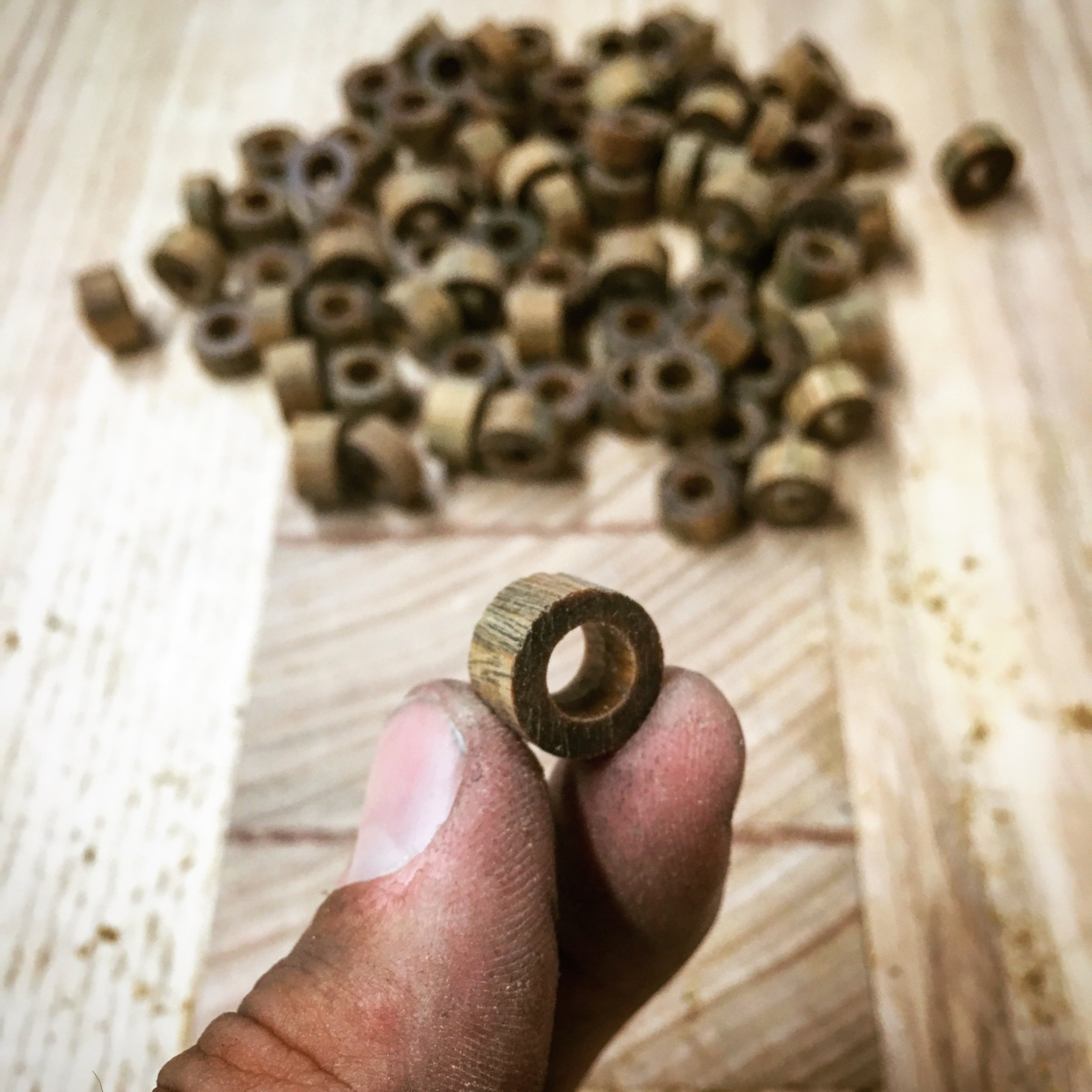 lignum vitae bushings - no oil required