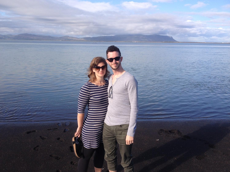 Guðbjörg & Kyle @ Ölfusárós, Iceland2014