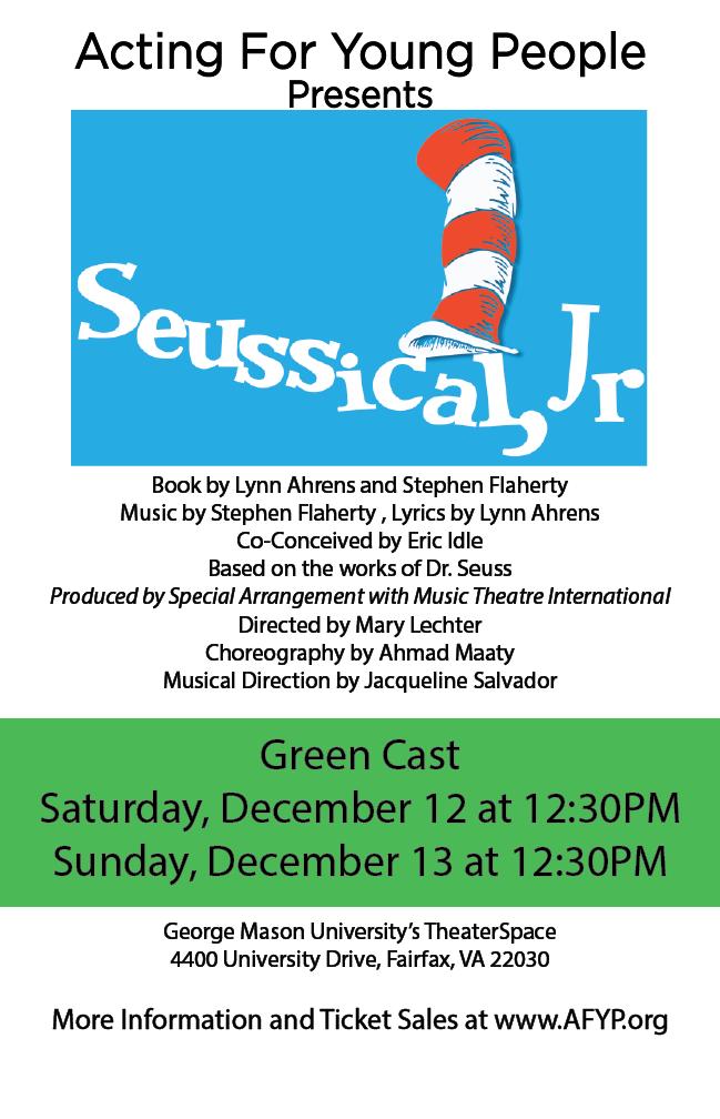 Seuss Green Poster