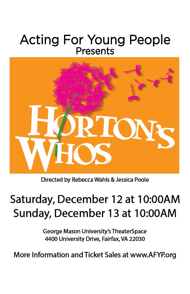 Horton's Whos Poster