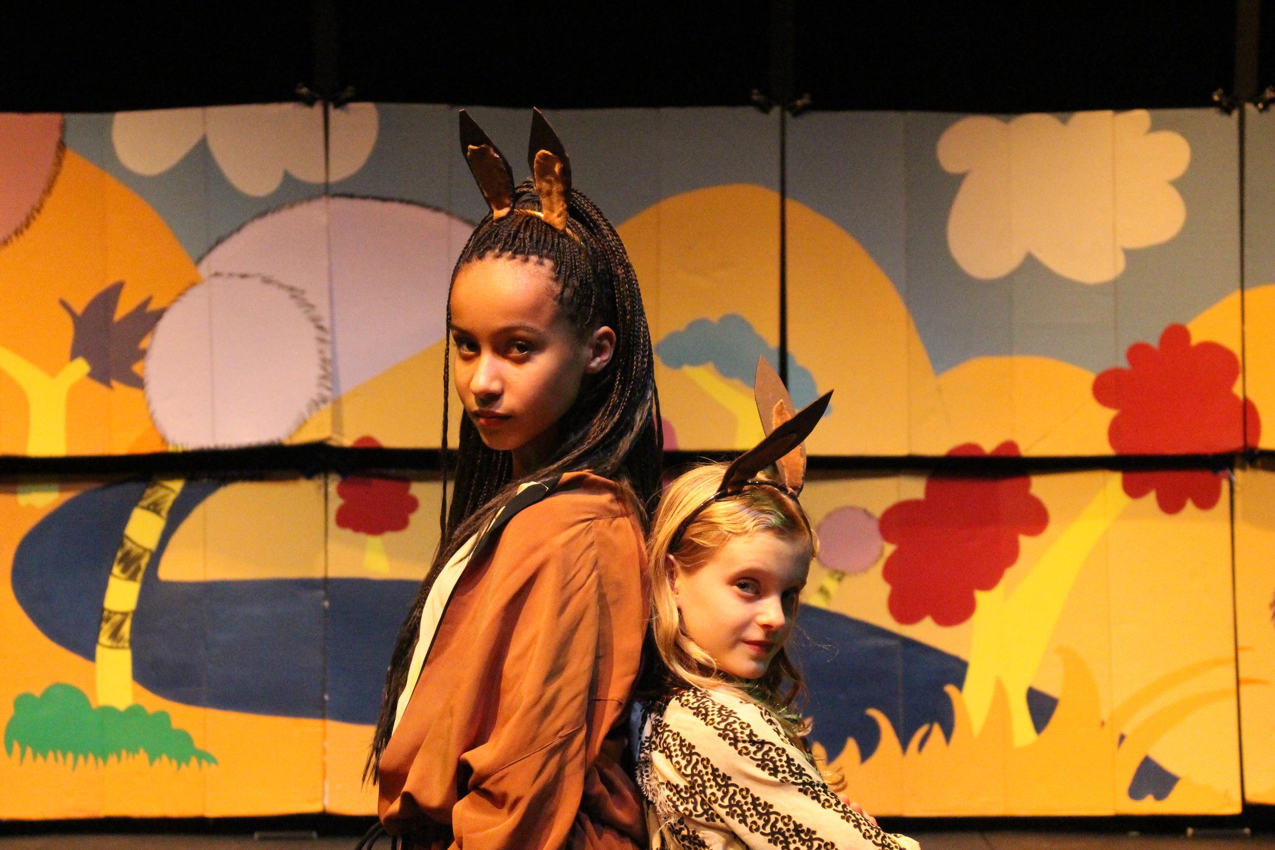 Aminata as the Sour Kangaroo in  Seussical, Jr.