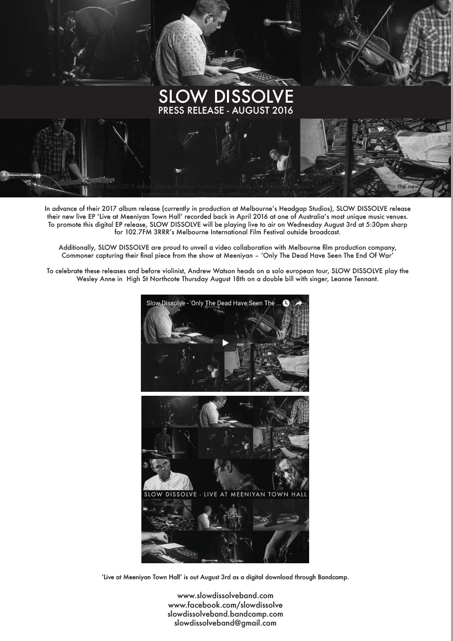 Press Release - August 2016 (PDF)