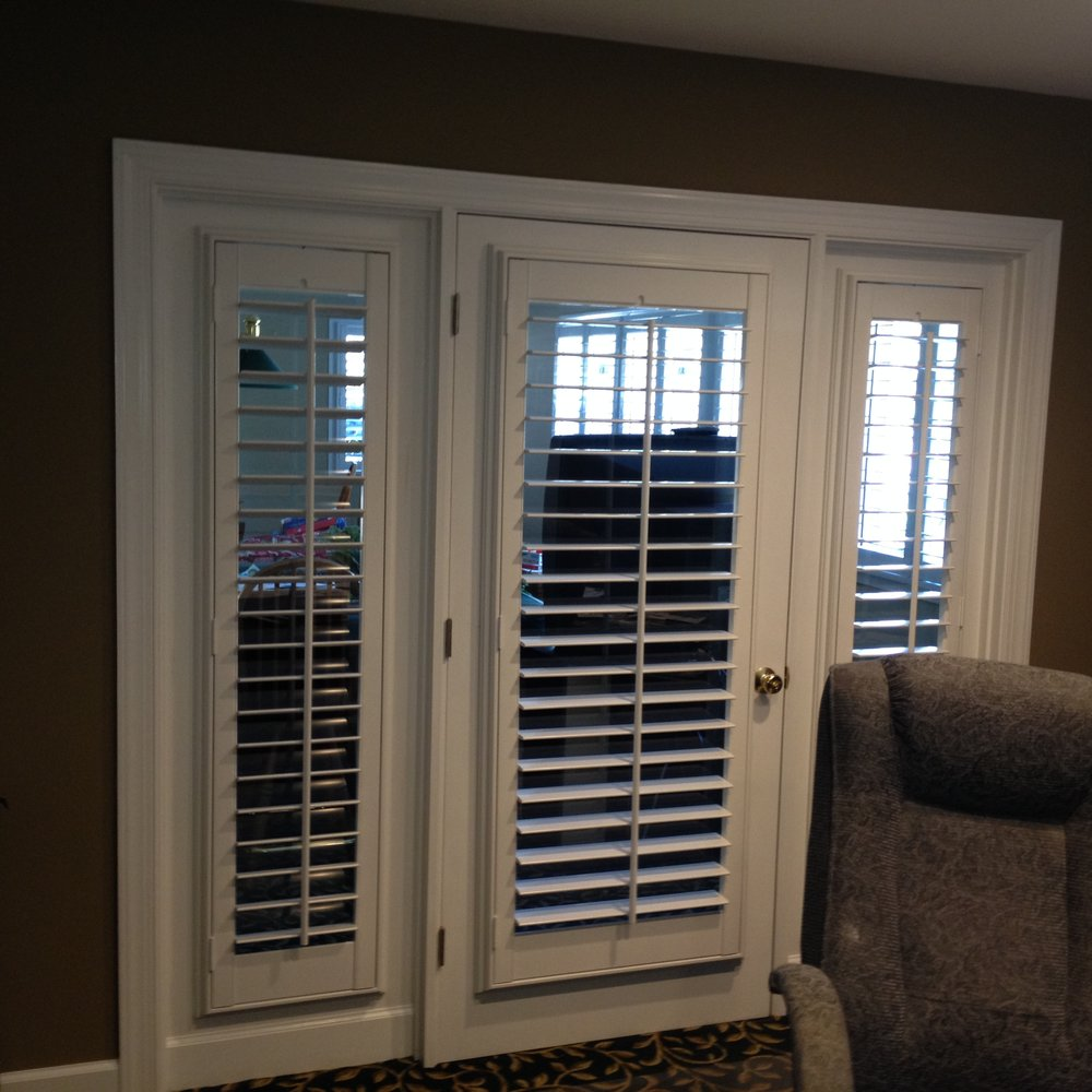 Plantation Shutters Designed For Doors