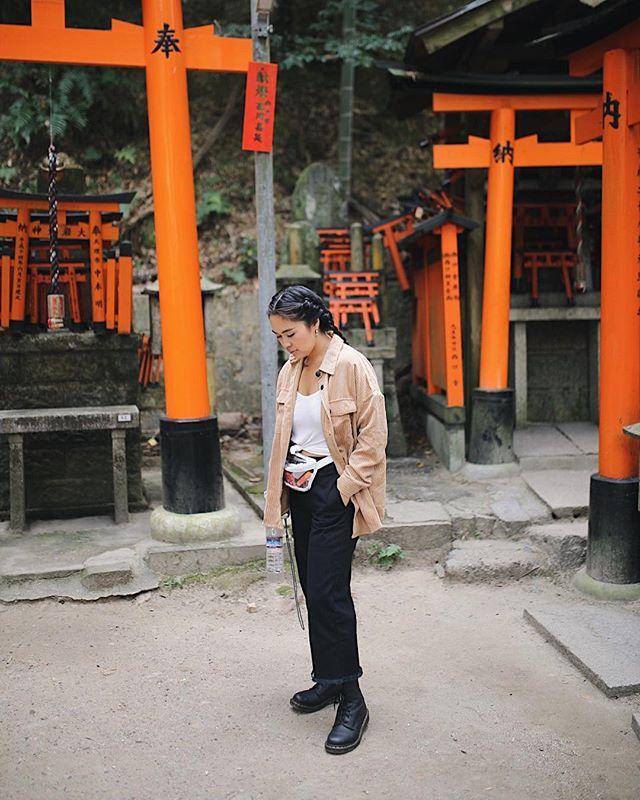 ⛩⛩⛩ . . . #kyoto #kyotojapan #fushimiinari