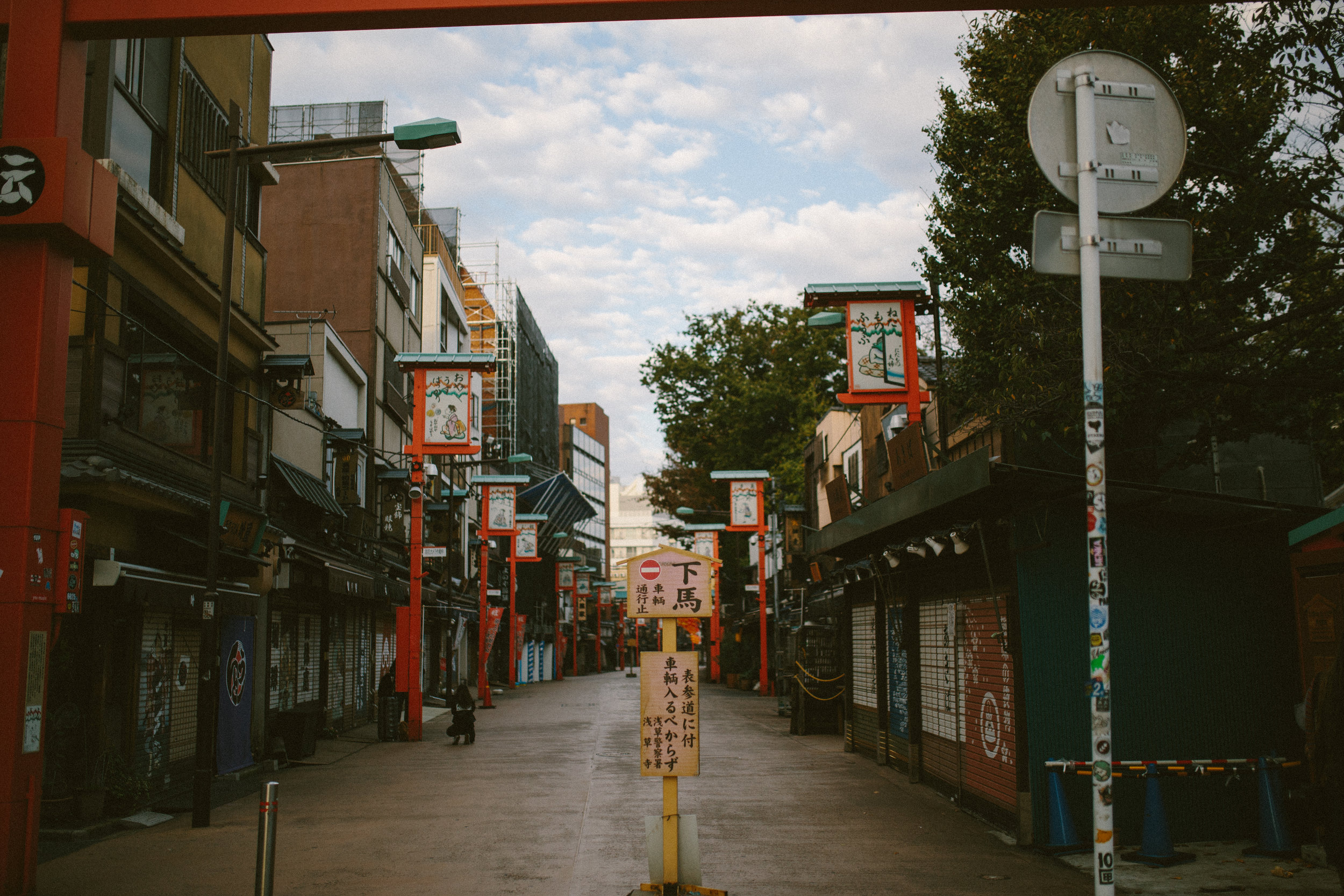 These small streets were seriously the coolest and became my favorite things to spot and photograph all over Japan.