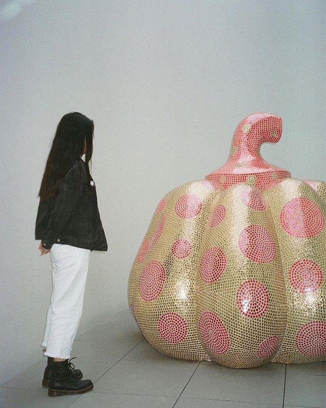 💗💛🎃💗💛 . . . . #portra400 #35mm #yayoikusama #yayoikusamamuseum #tokyo #japan #filmwave