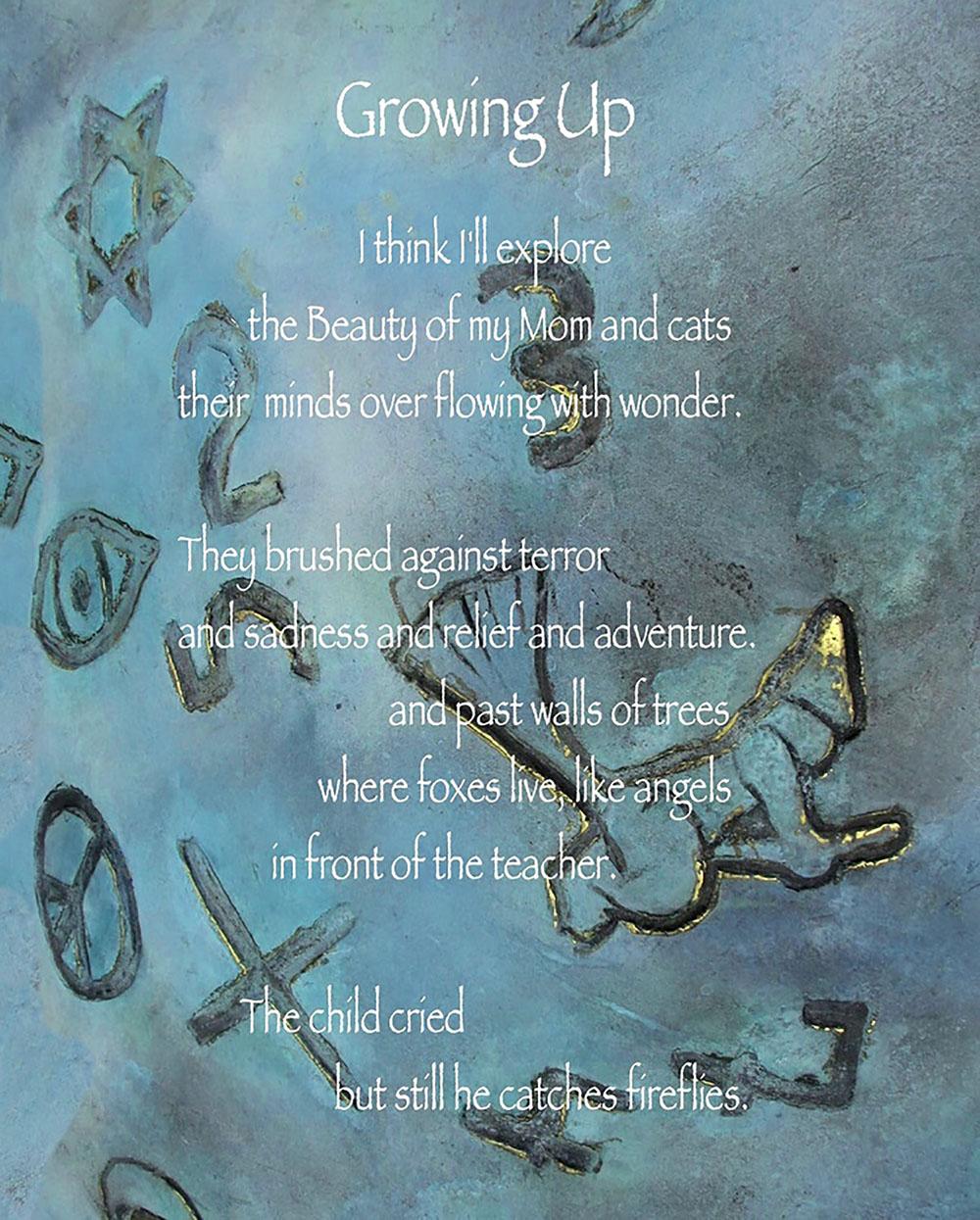 photo poem collage