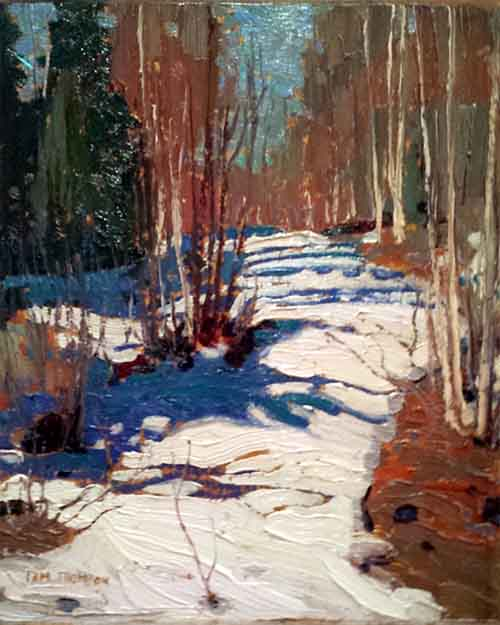 Tom Thomson - The Path Behind Mowat Lodge