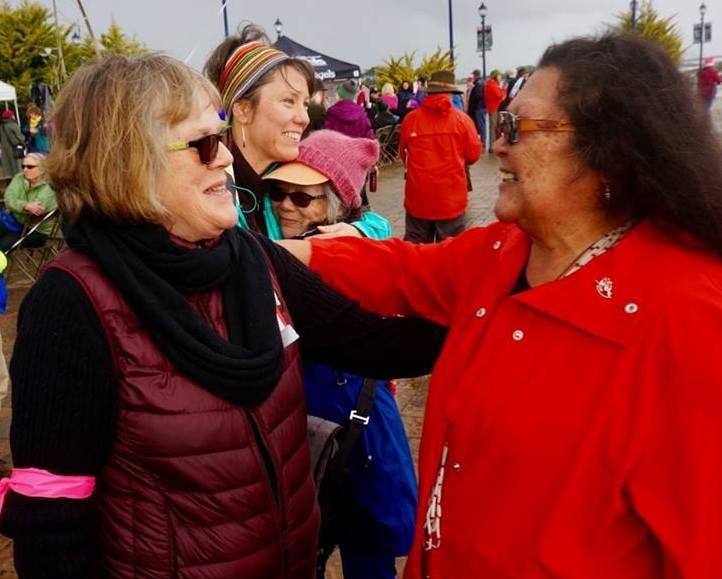 Eureka Women's March Bob Doran photo