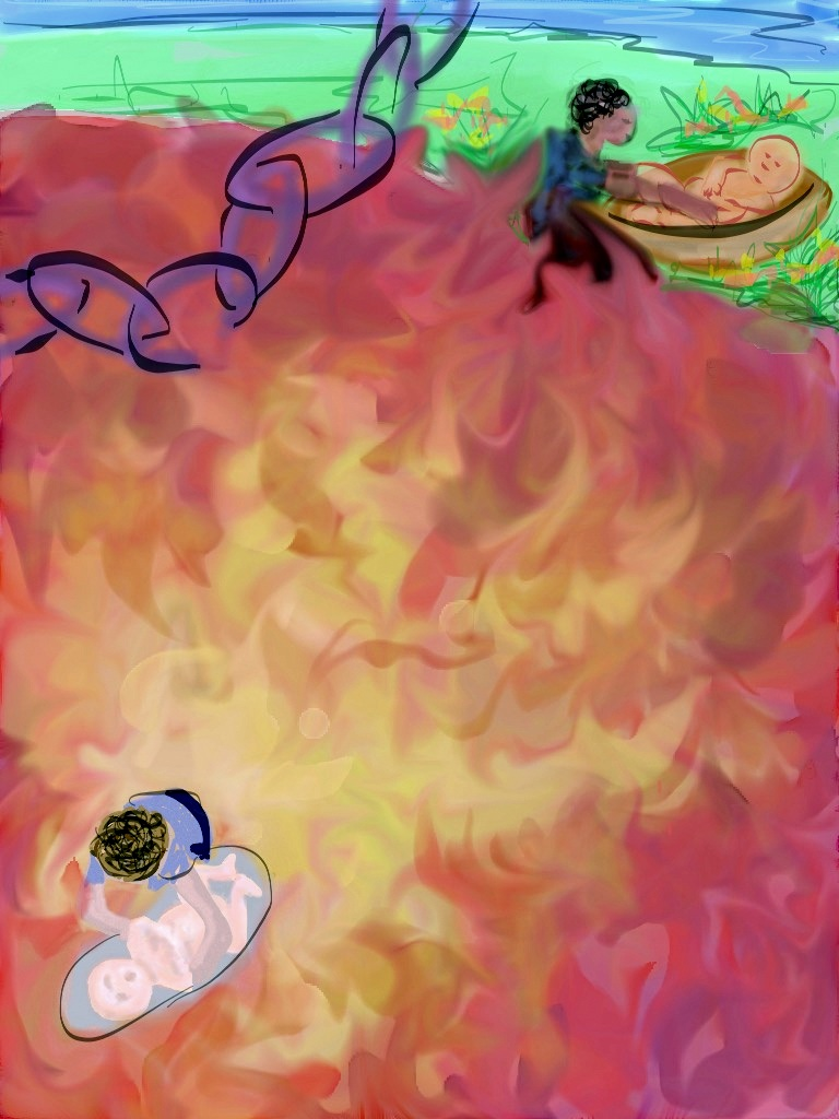 digital drawing from active imagination