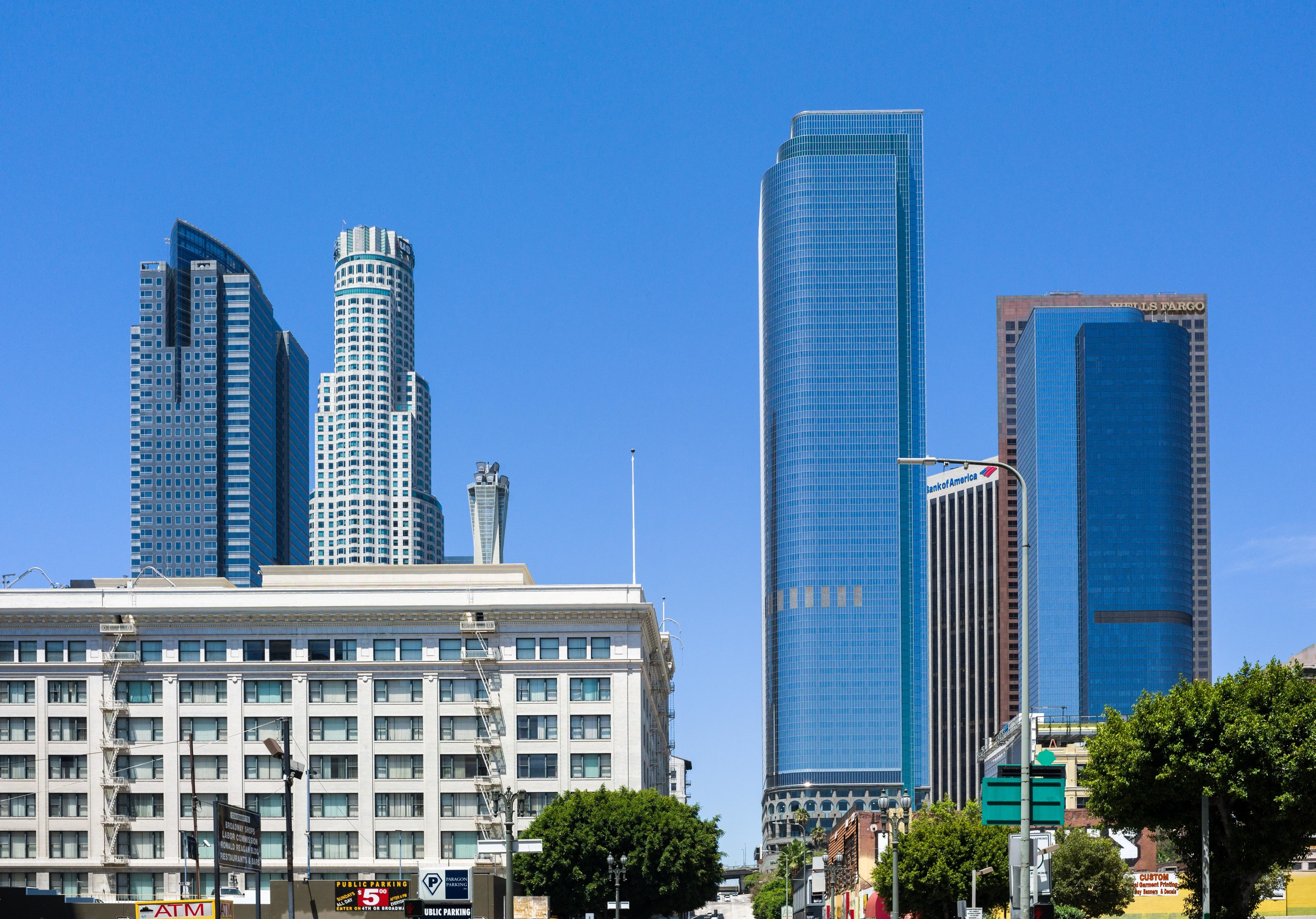 A Blue Day in LA