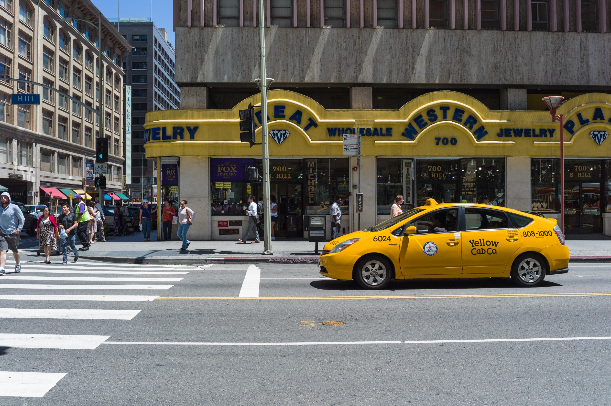 A Yellow Cab
