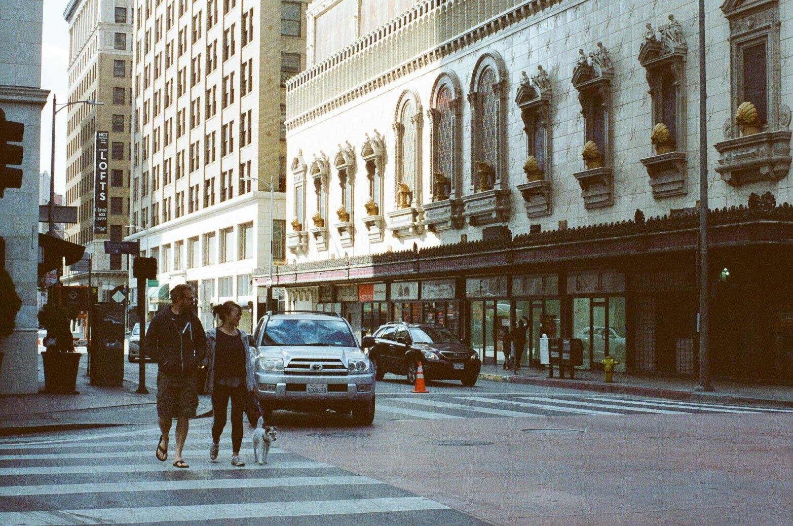 LA Street Corner