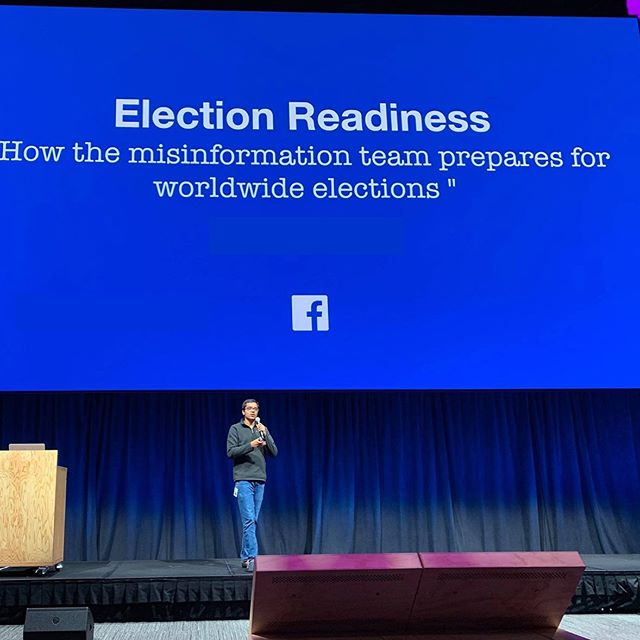 One of the RPMs on his second rotation was able to present to other teams about the work he had done on misinformation during elections - a big focus for Facebook, and an extremely difficult problem to tackle!