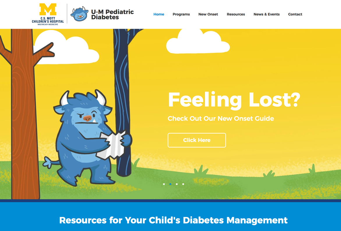 https://www.umpedsdiabetes.com/