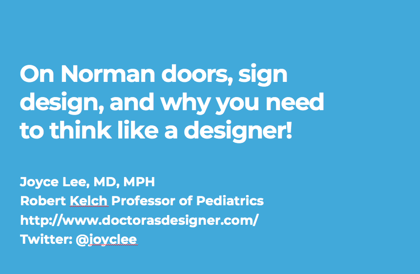 My Talk on Design Thinking for the MCIRCC Reimagining Critical Care Seminar Series . Scroll down to see the Twitter Moment I created for this talk.