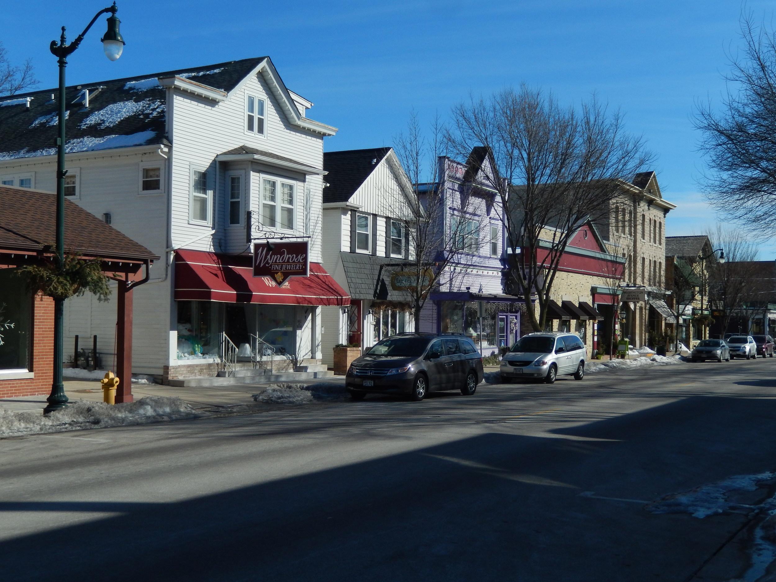 Washington Avenue - Cedarburg, WI