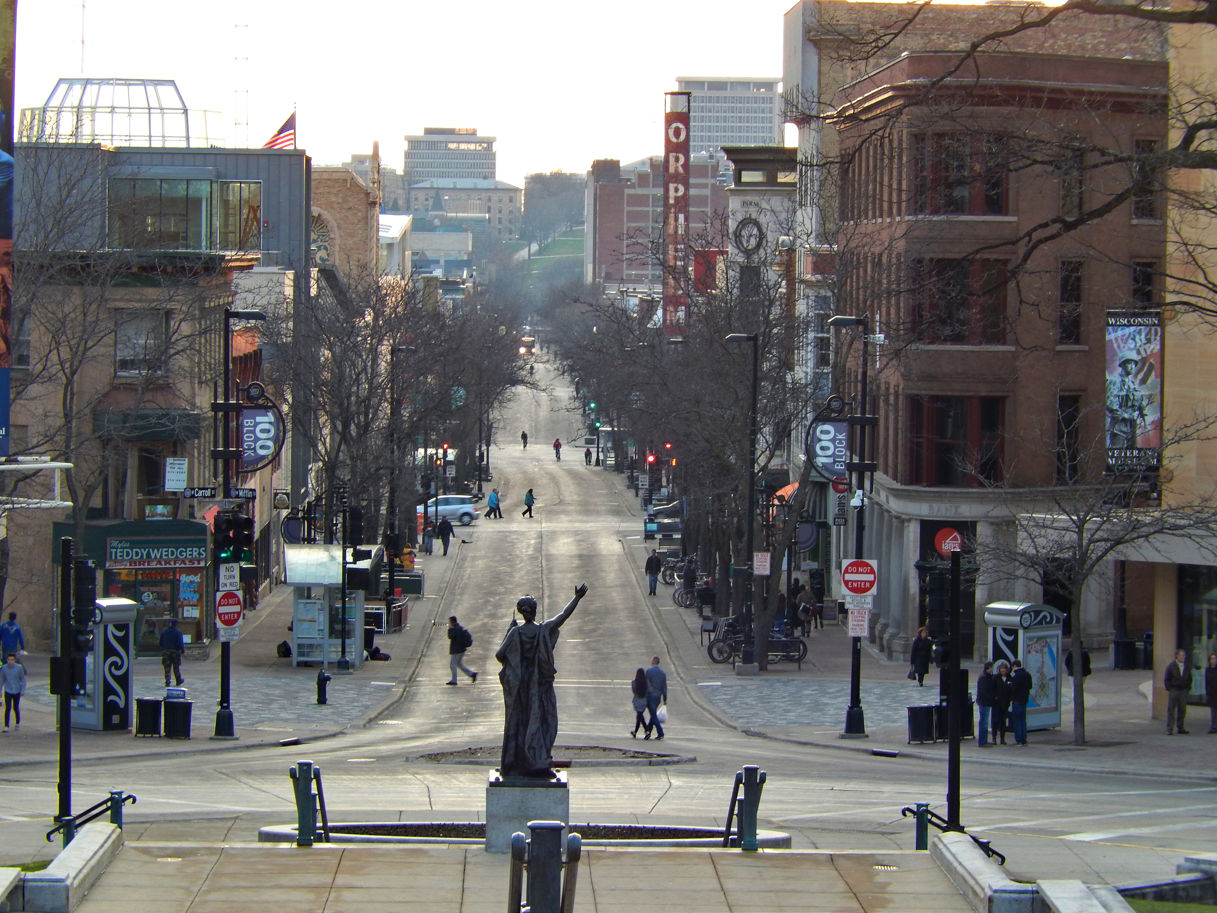 State Street historic commercial district - Madison, WI