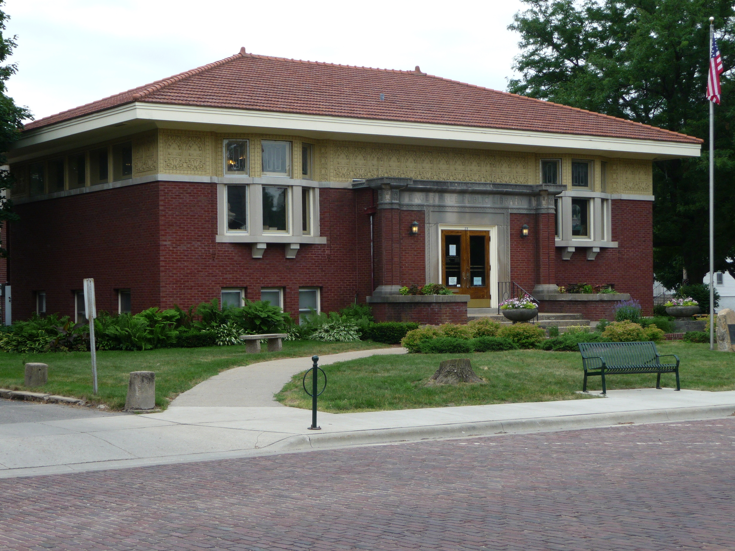 Eager Free Public Library - Evansville