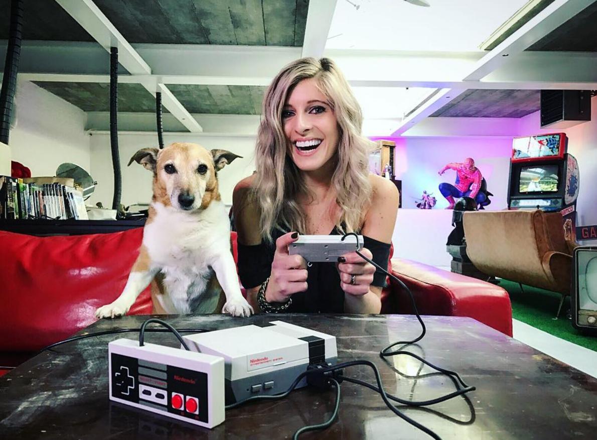 Nintendo game dog
