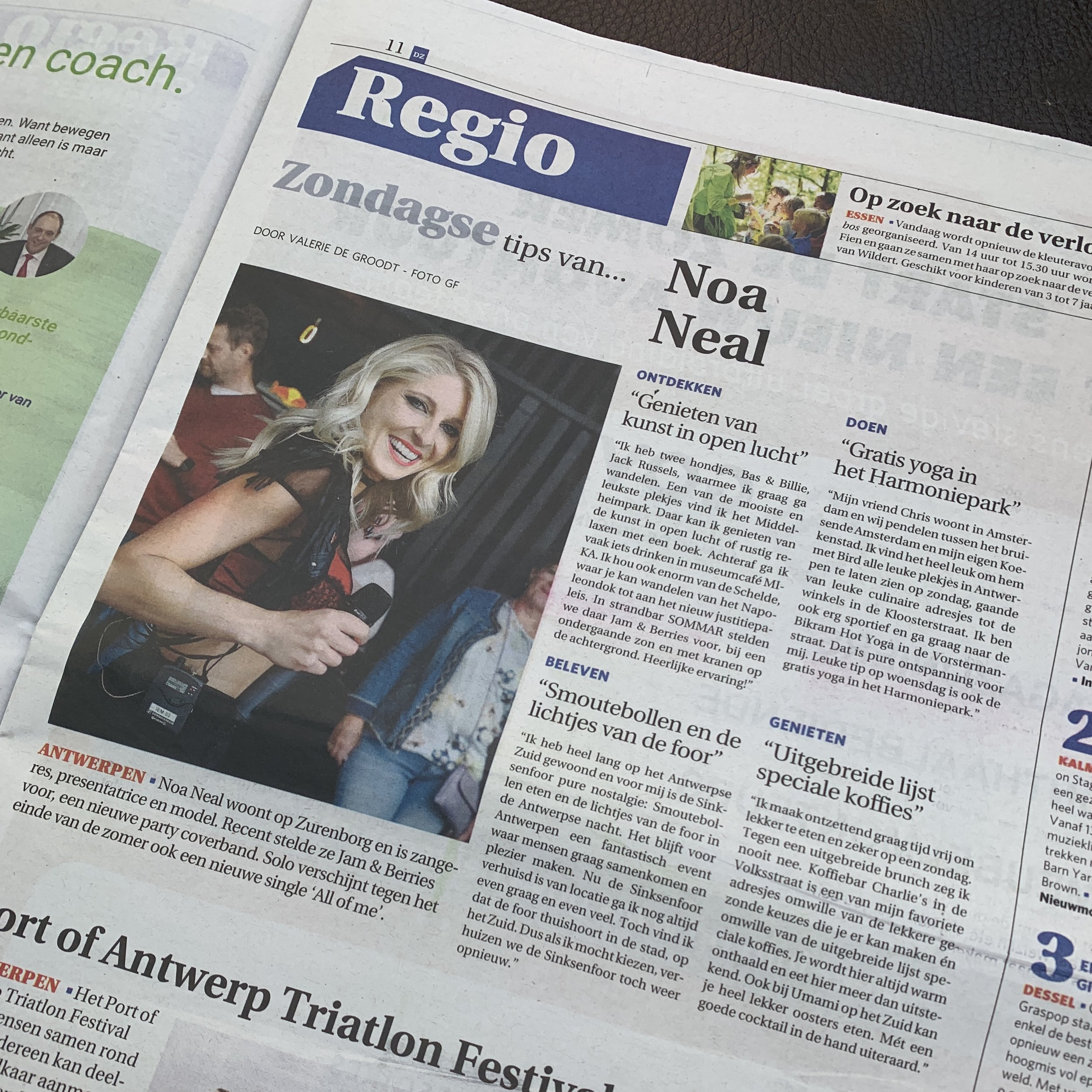De zondag interview krant