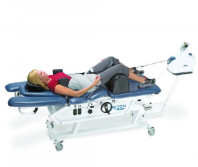 WE USE A TOP OF THE LINE, STATE OF THE ART CHATTANOOGA TRITON DTS SPINAL DECOMPRESSION SYSTEM TO GIVE YOU THE BEST POSSIBLE RELIEF FROM YOUR PAIN.