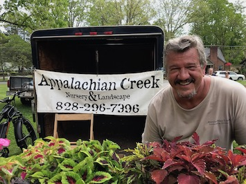Appalachian Creek Garden Center   Jeff Seitz  appcrk@yahoo.com  (828) 232-7391