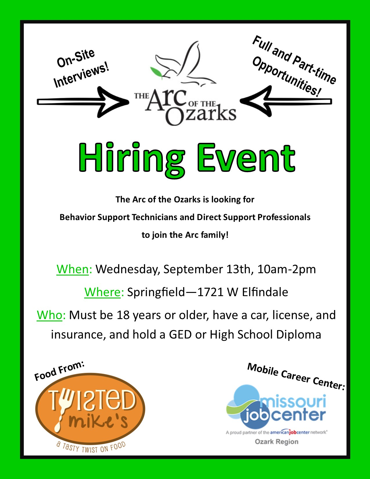 Springfield Hiring Event Flyer.jpg