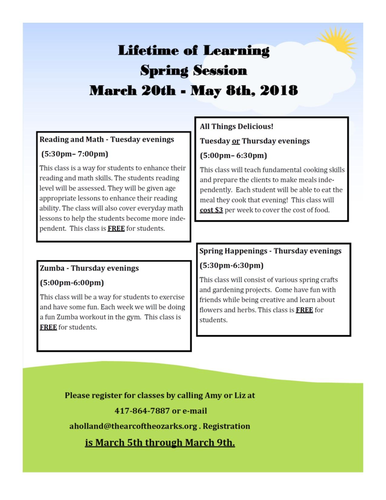 Lifetime of Learning Spring 2018.jpg