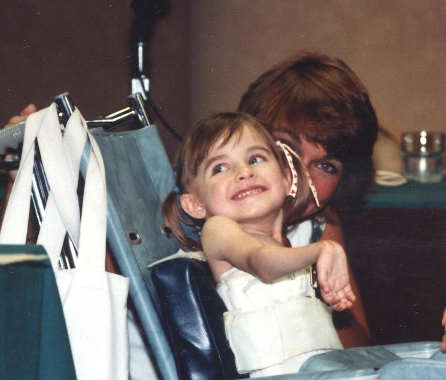 Cindi Lamb with daughter Laura