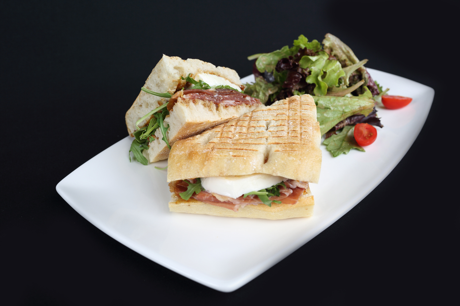 Fig Prosciutto On Focaccia - Angry Moon Cafe and Wine Bar, Palm Beach Gardens, FL 33410