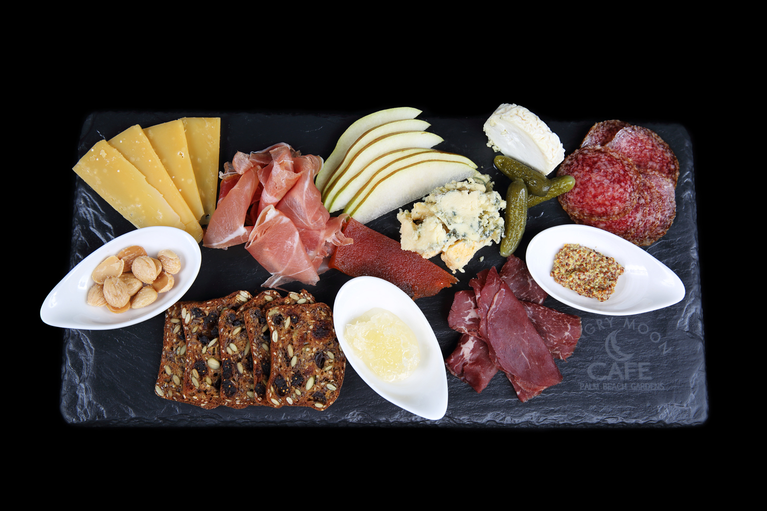 Charcuterie and Cheese Plate - Angry Moon Cafe and Wine Bar, Palm Beach Gardens, FL 33410