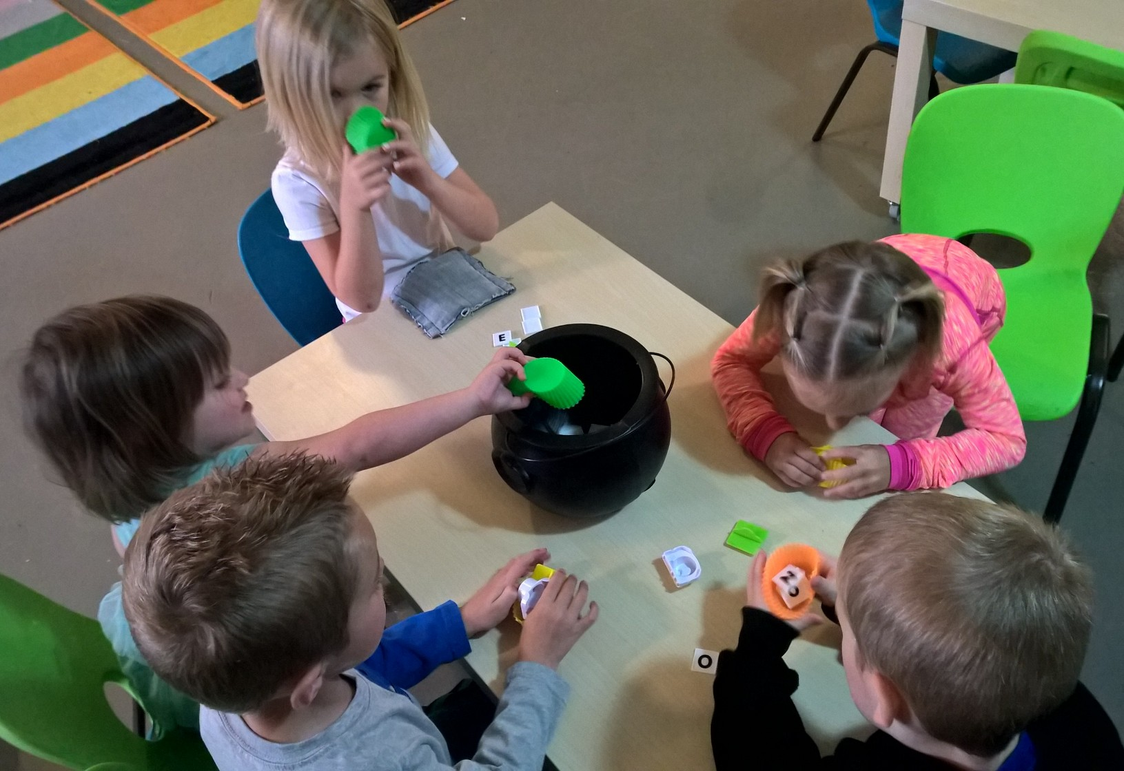 Making and Eating Alphabet Soup