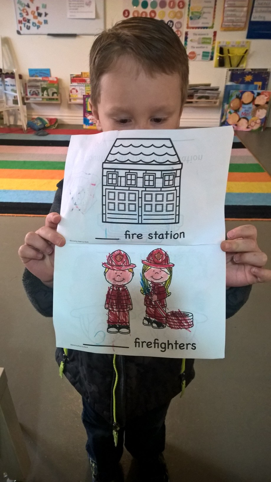 Firefighter Counting Book.