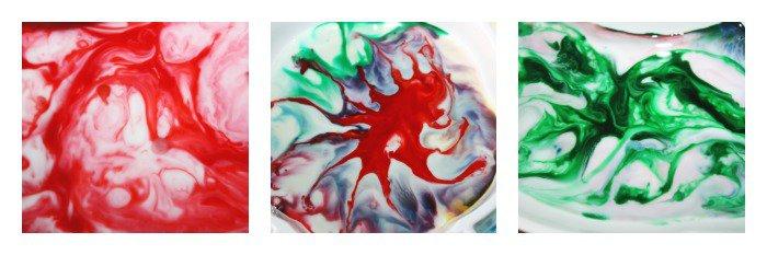 Marbled Magic Milk science