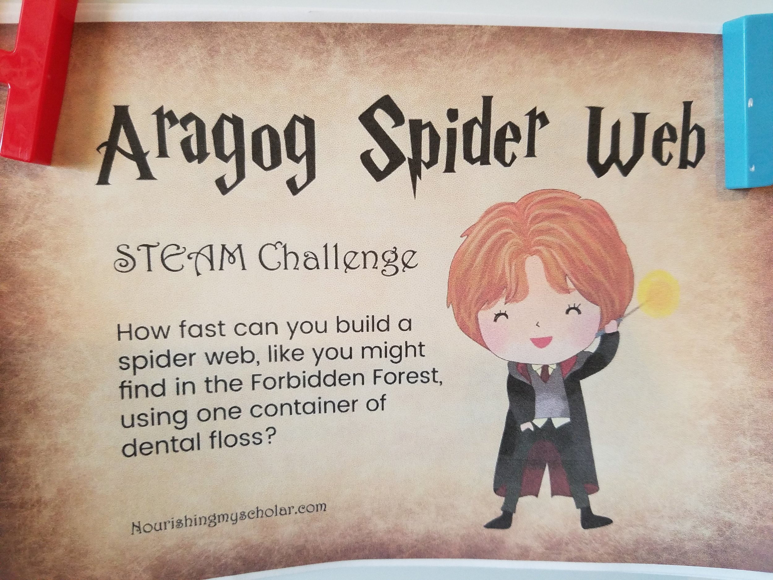 Harry Potter STEM Challenges