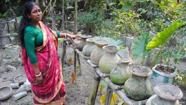 vertical gardens in Bangladesh