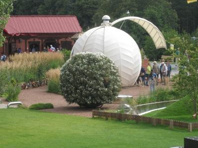 vertical garden - custom sphere