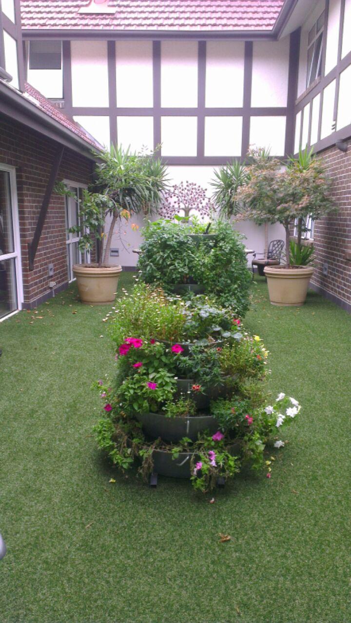 vertical garden DIY kit-tower