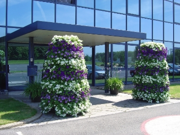 vertical garden - towers