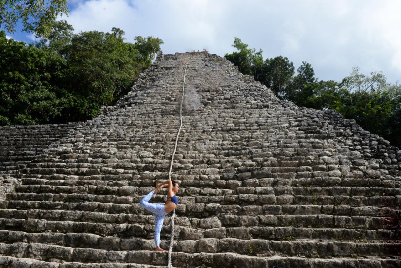 Coba Ruins | Quintana Roo | Mexico    Leggings |  Liquido Active