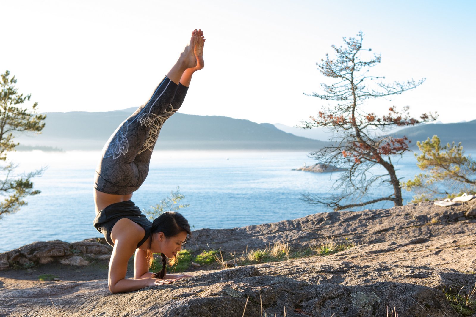 Inner Fire Photoshoot x Lighthouse Park x West Vancouver x Cam Lee Yoga