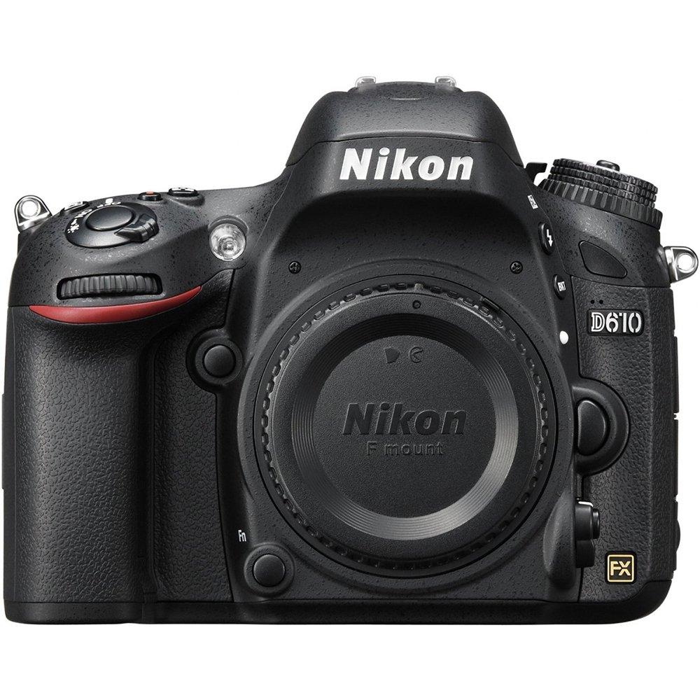 Nikon D610: FX-Format Digital SLR Camera