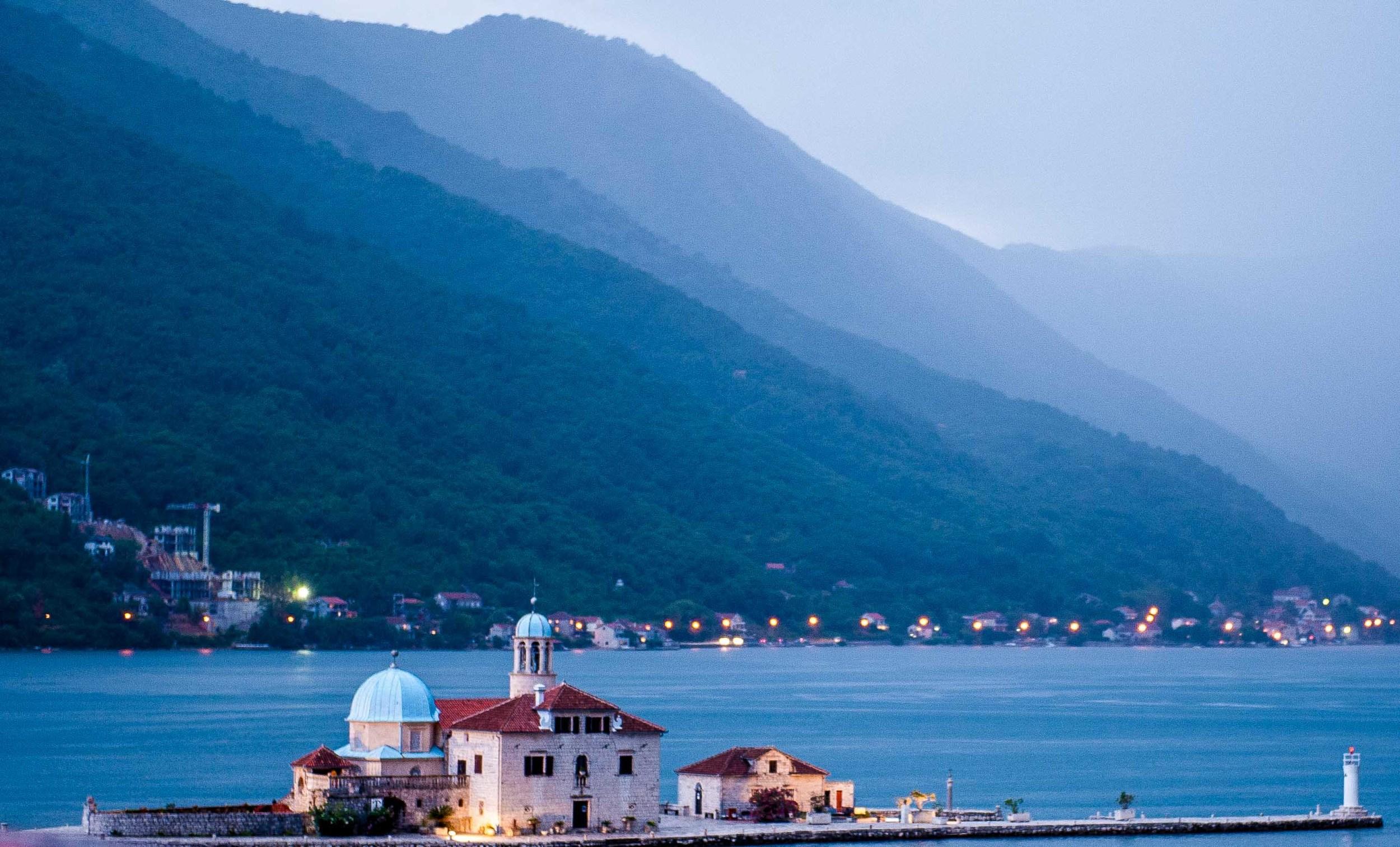 Evening in Montenegro