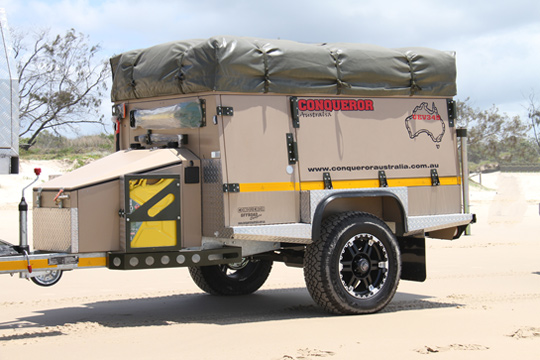 The Conqueror UEV-345 was named Off-Road Camper Trailer of the Year