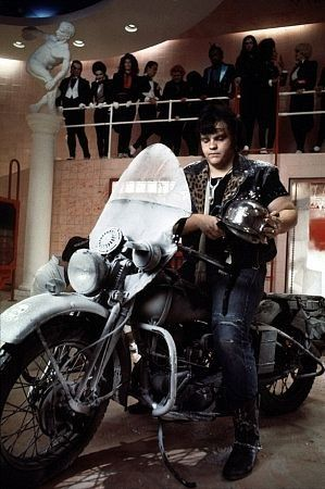 Meatloaf on Motorbike - Rocky Horror Picture Show
